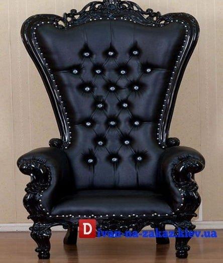 Черное кресло на заказ