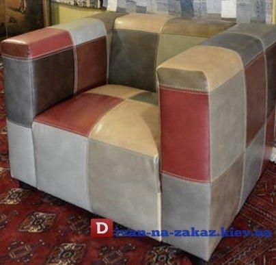 разноцветное элитное кресло на заказ