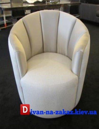 круглое кресло белое