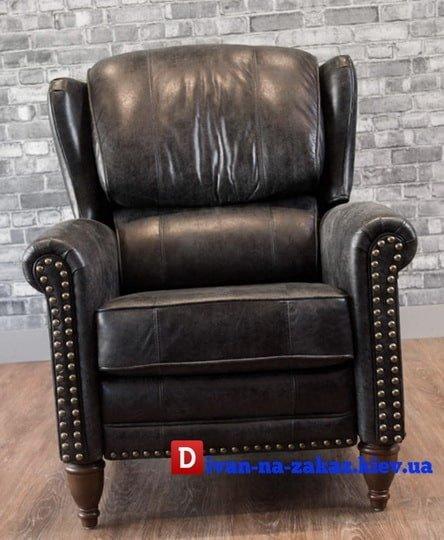 кресло честер из кожи под заказ Киев