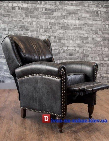 кресло на заказ с откидной подставкой для ног