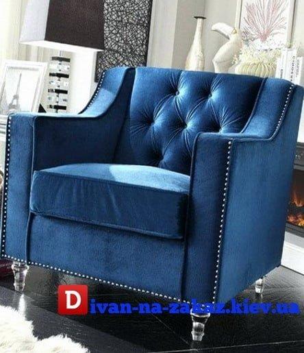 синее кресло каталог