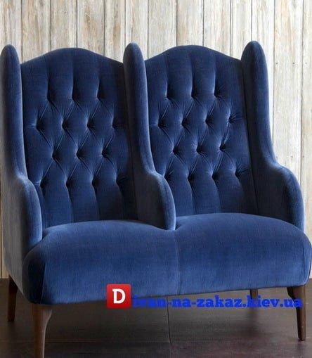 двойное английское кресло честер