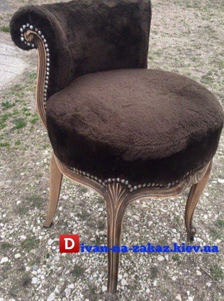 кресло пуф с круглым сидением