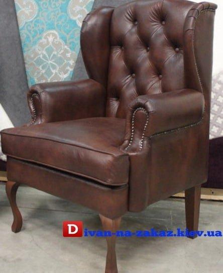 кожаные кресла честерфилд