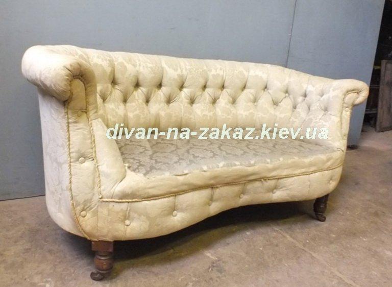 белая кушетка-диван на заказ