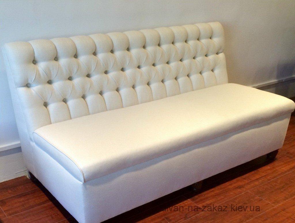 прямой офисный модельный диван