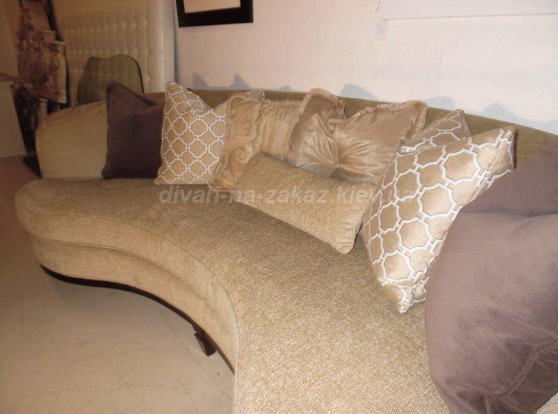 варианты круглых диванов