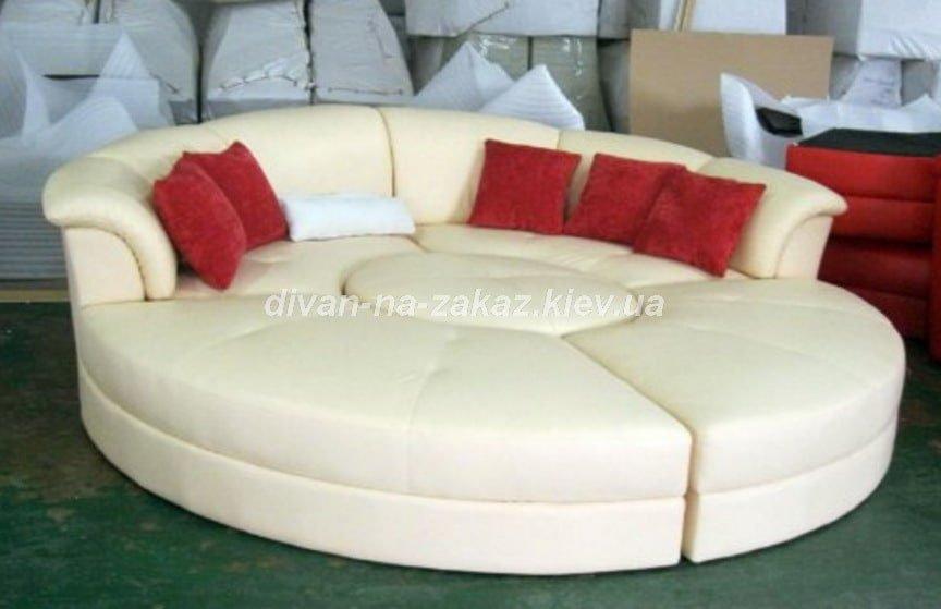 круглый диван кровать на заказ