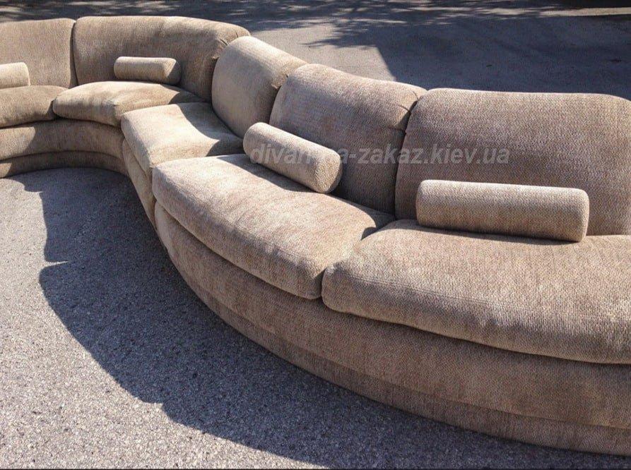 радиусная дизайнерская мягкая мебель
