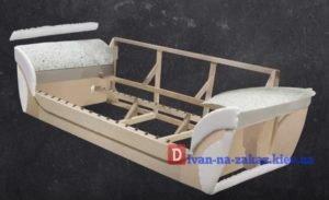 этапы изготовления каркаса дивана