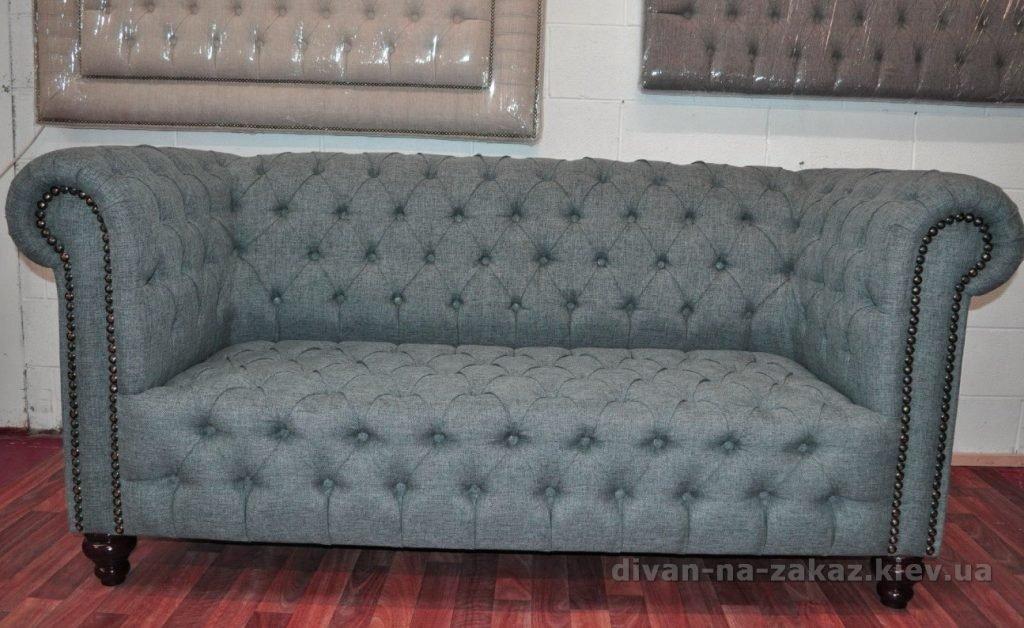 прямой диван честер на заказ