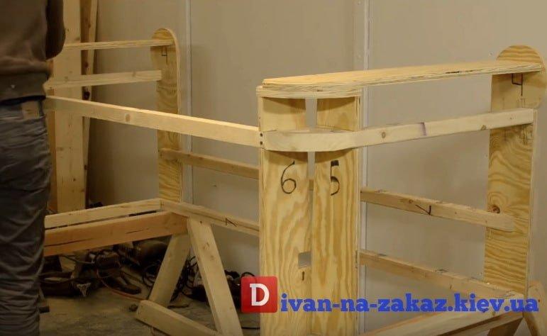 материал каркасов мягкой мебели