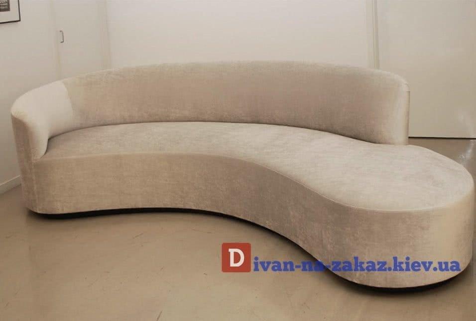 полукруглый диван под заказ