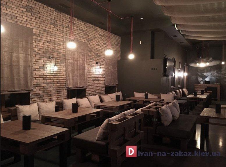 столы и мягкая мебель из палет
