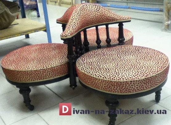 тройное кресло для магазина