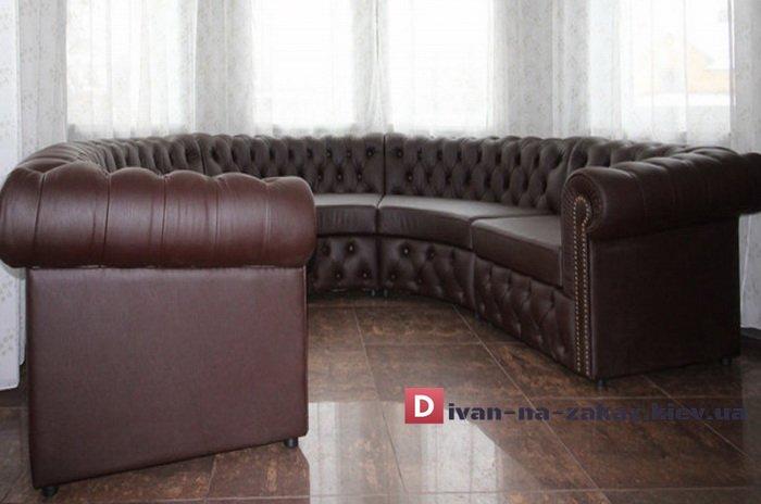 круглый диван честер