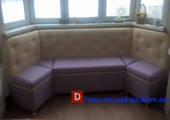 модульный диван в кухню