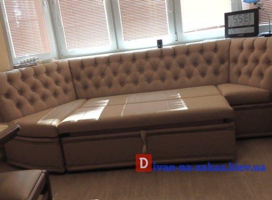 кухонный диван с подушками на заказ