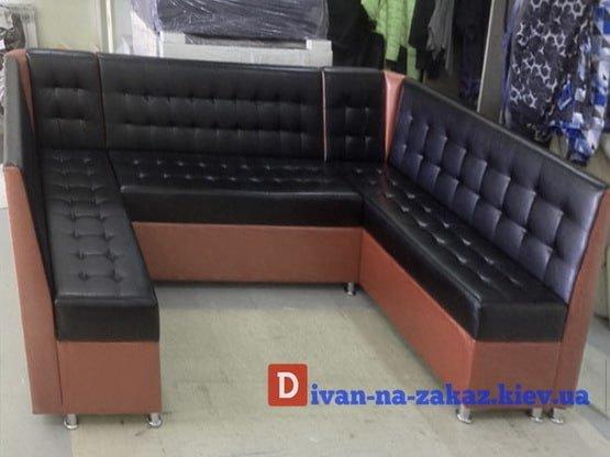 п образный диван для кухни на заказ