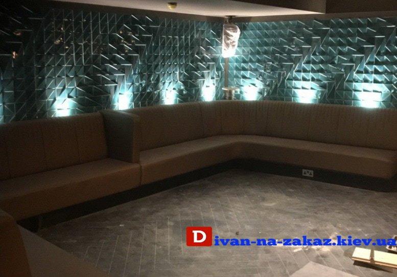 мягкая мебель для клубов под заказ