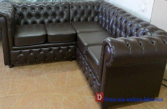 мягкая мебель капитоне на заказ для офиса