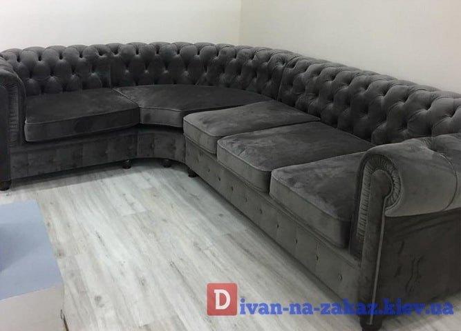 большой офисный диван в прихожую на заказ