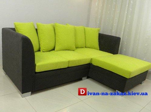 желтый детский диван
