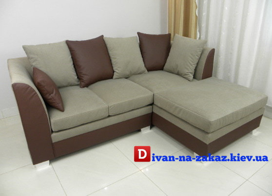 серый детский диван