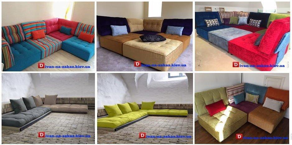 мебель из подушек