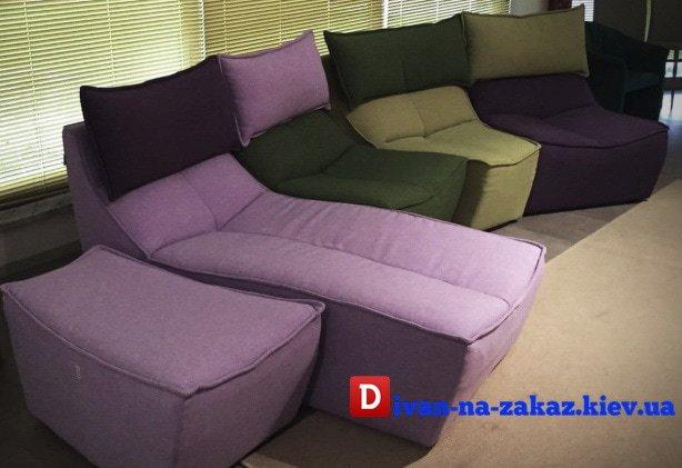 Детские сиреневые кресла на заказ