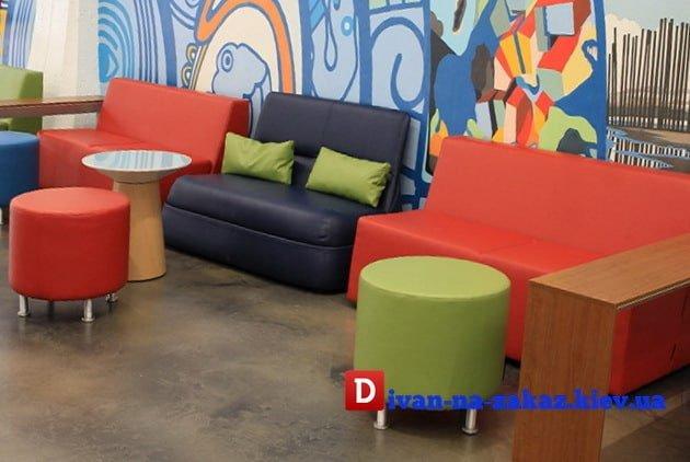 Кресла для детского развлекательного центра на заказ в Киеве