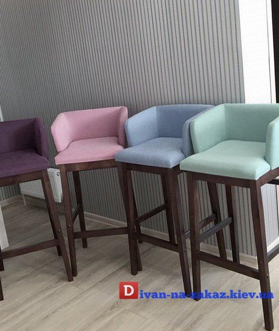 стулья цветные для бара