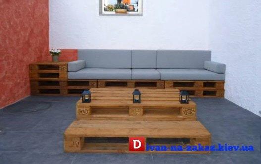 мебель из старых поддонов под заказ в Киеве