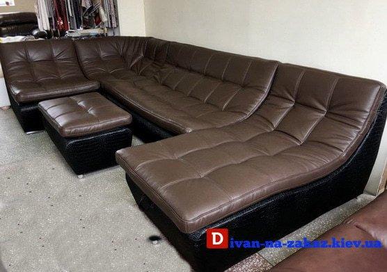 нестандартный заказной модульный диван