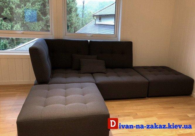 модульный диван для молодежи на заказ