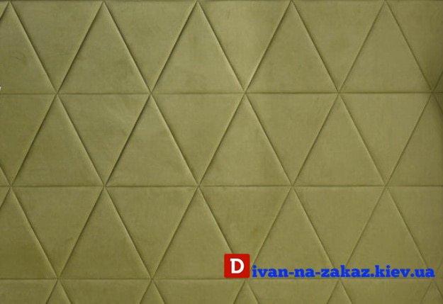 зеленые декоративные мягкие панели