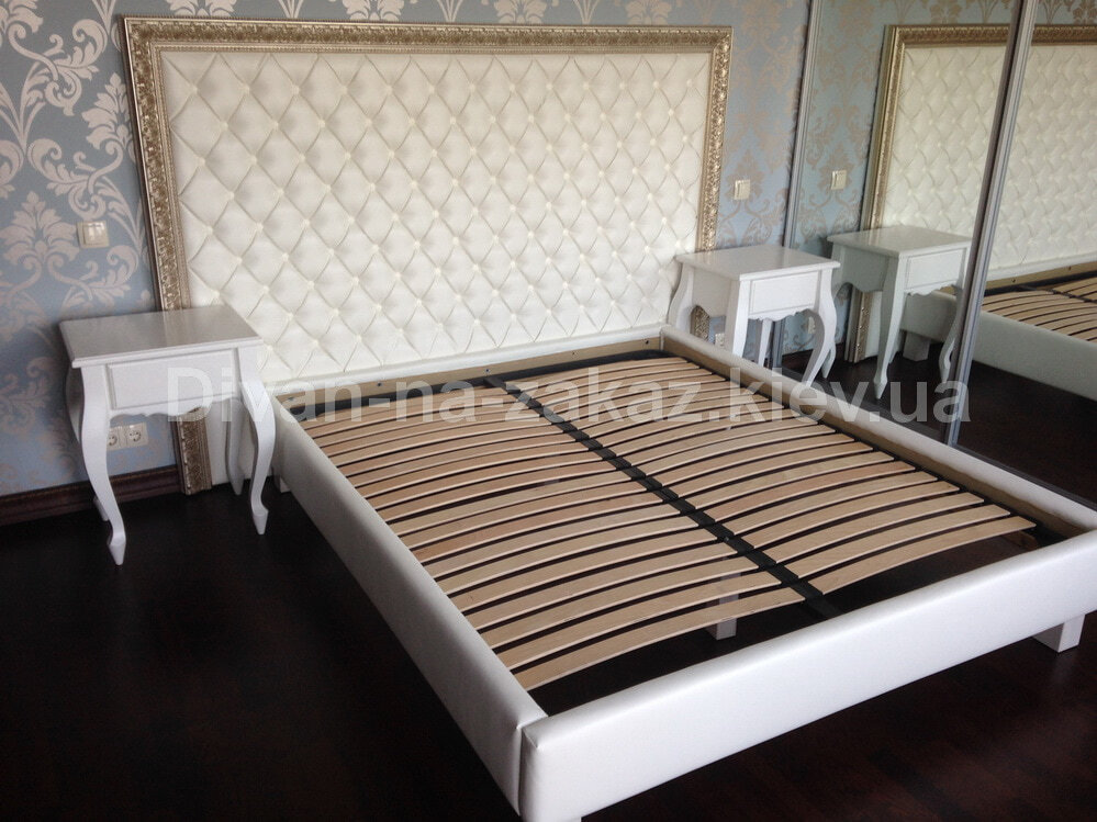Изголовье кровати в Коже заказать